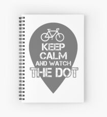 Watch the Dot Spiral Notebook