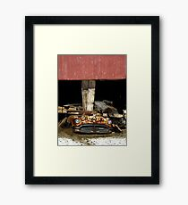 Weight Bearing Exercise Framed Print