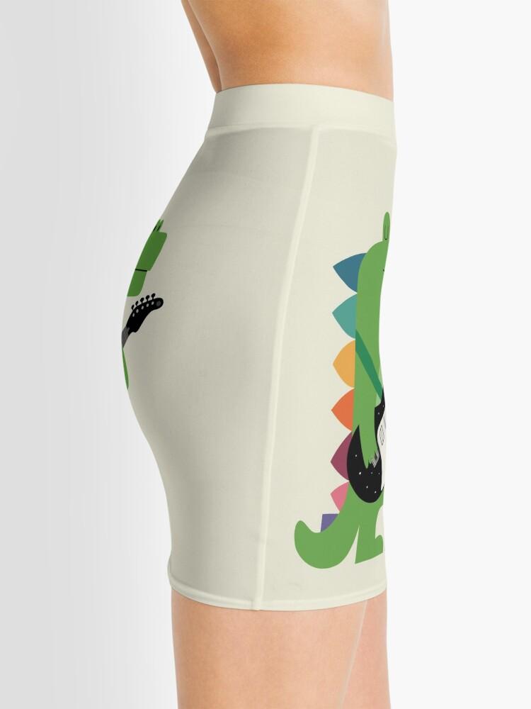 Alternate view of Croco Rock Mini Skirt