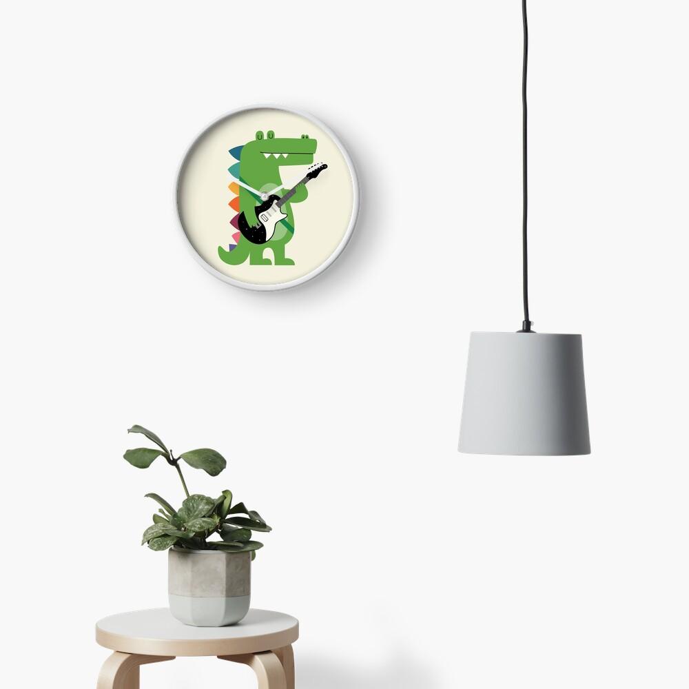 Croco Rock Clock