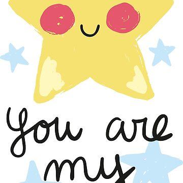 You are very star by JoanaJuhe-Laju