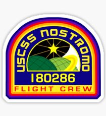 Nostromo Flight Crew Sticker
