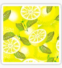 Lemon background Sticker