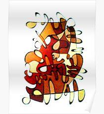 Sepian serpant Poster