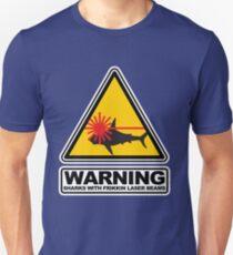 Sharks with Frikkin Laser Beams Unisex T-Shirt
