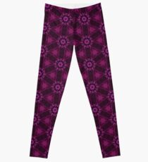 Blueberry blossom 3 Leggings