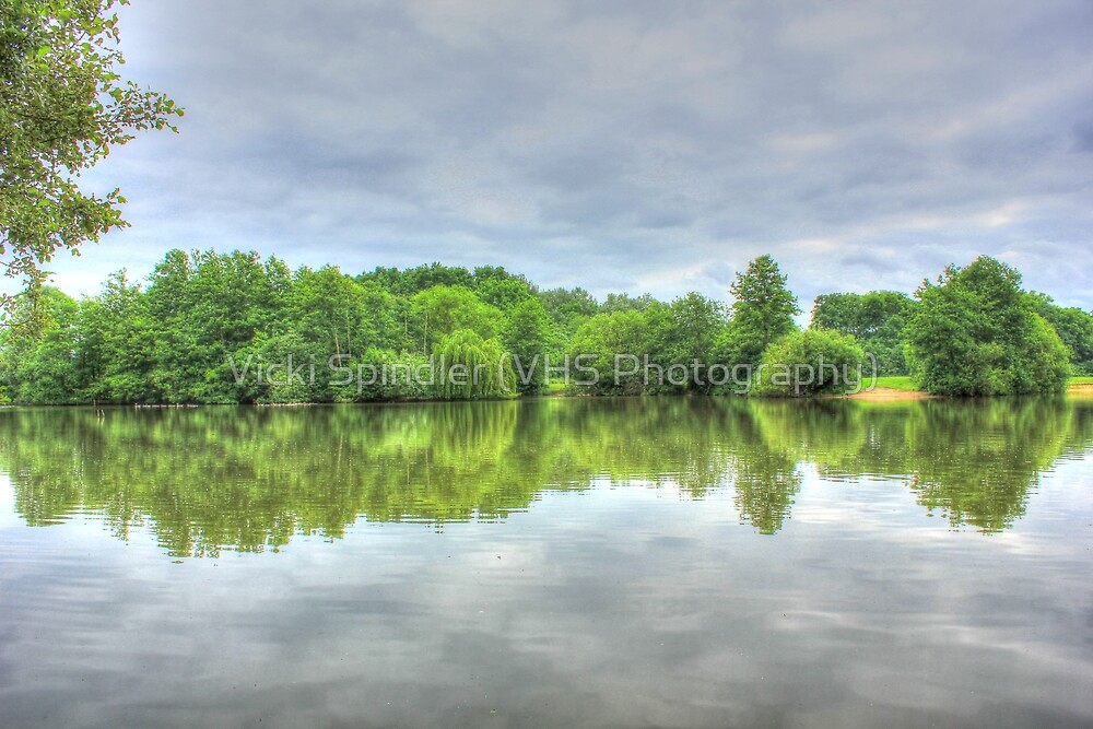 Cloudy Reflection HDR by Vicki Spindler (VHS Photography)