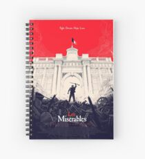 Les Mis Spiral Notebook