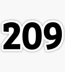 209 Sticker
