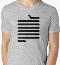 (Very) Long Dog Mens V-Neck T-Shirt