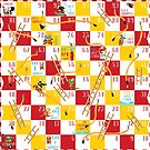 Snakes and Ladders - The Firefighters by Aaron Randy