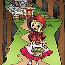 Little Red Riding Hood  by SassyColouring