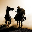 Rodeo Silhouette by Annette Blattman