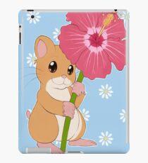 Hamster Hibiscus iPad Case/Skin