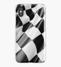 Checkered Flag, Cloth, WIN, WINNER, Chequered Flag, Motor Sport, Racing Cars, Race, Finish line iPhone Case