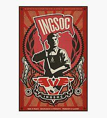 INGSOC 1984 Poster de propagande Impression photo
