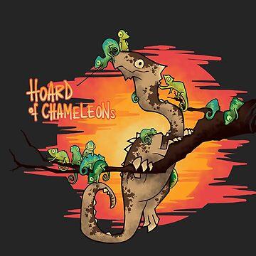 Hoard of Chameleons by ArryDesign