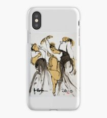 3 dancers iPhone Case