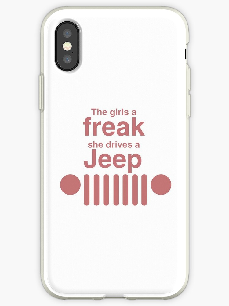 Jeep Girl iphone case