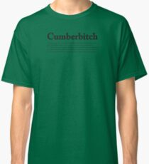 CUMBERBITCH TEE - 2nd Edition Classic T-Shirt