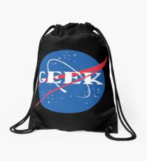 Geek NASA Meatball Parody Drawstring Bag