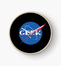 Geek NASA Meatball Parody Clock
