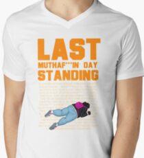 Last Day Standing Men's V-Neck T-Shirt