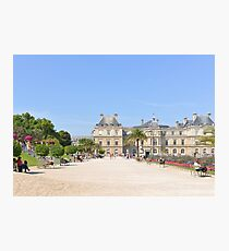 Jardin Du Luxembourg on a Summer's Day Photographic Print
