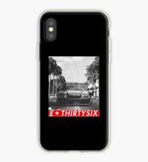 """E36 """"redstriped"""" iPhone Case"""