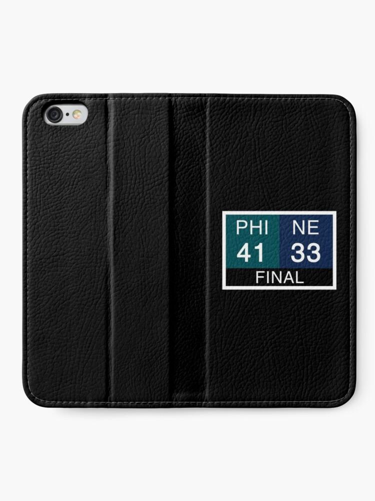 Alternate view of LII Scoreboard iPhone Wallet