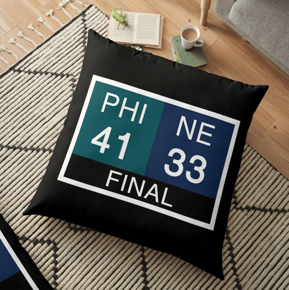 LII Scoreboard Floor Pillow