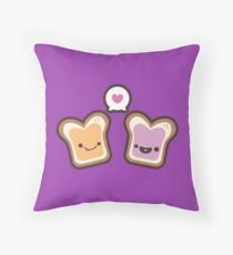 PB&J Love Throw Pillow