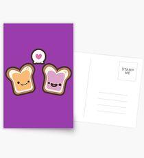 PB&J Love Postcards