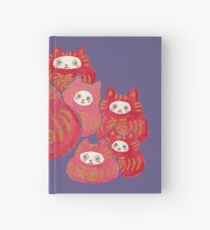 Good Luck Cat Darumas Hardcover Journal
