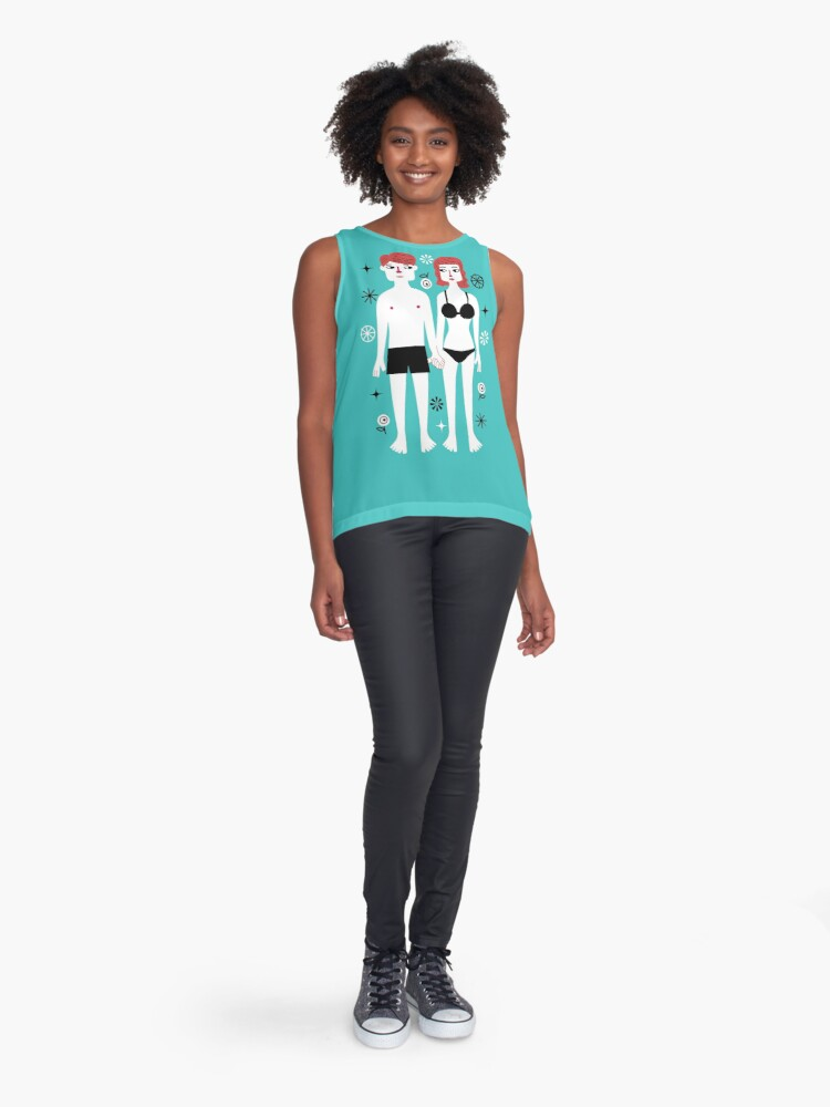 Alternate view of Beside You Sleeveless Top