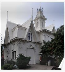 the Sacramento Historic Governors' Mansion Carriage House Poster