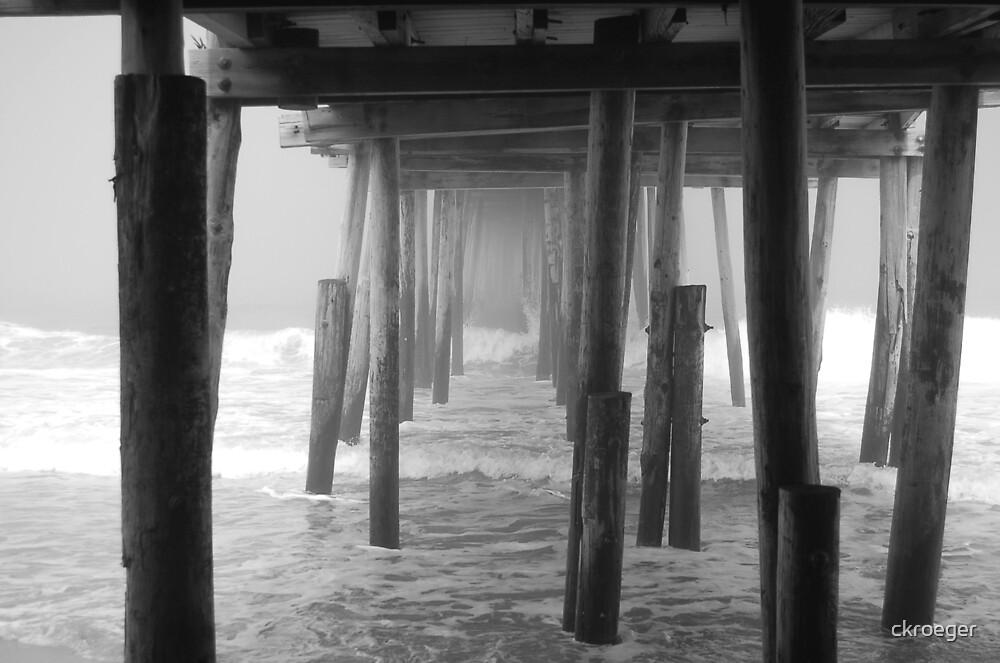 Ghostly Pier by ckroeger