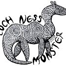 Loch Ness Monster by nocturnalsea