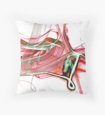 colours toffee apple Throw Pillow