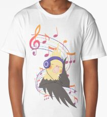 Musical Bird Long T-Shirt