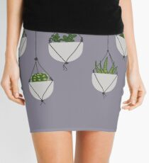 Hanging Succulents and Cacti Mini Skirt