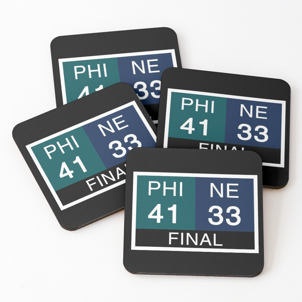 LII Scoreboard Coasters (Set of 4)
