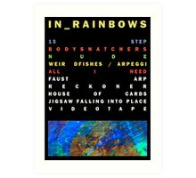 In Rainbows Art