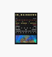 Radiohead - In Rainbows Art Board