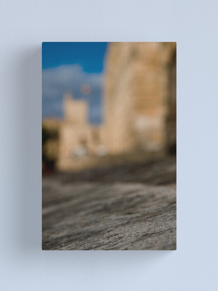 Alternate view of La Seu - Palma de Mallorcas 12th Century Cathedral #2 Canvas Print