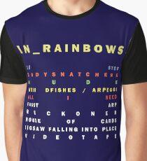 Radiohead - In Rainbows Graphic T-Shirt