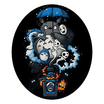 My Neighbor Totoro by Misterfreaks