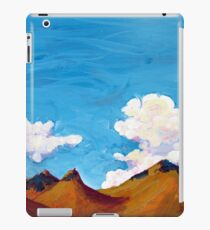 clouds and hills iPad Case/Skin