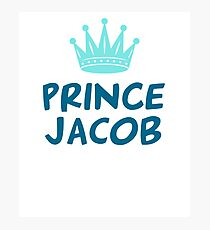 PRINCE JACOB T-SHIRT Photographic Print