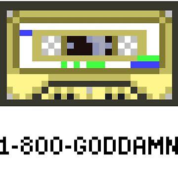 1-800-GODDAMN by snorlax3d